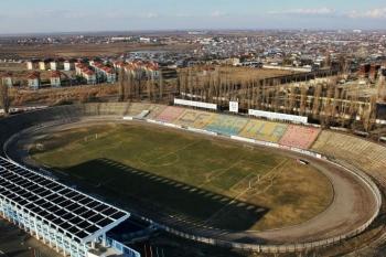 Stadion Municipal Braila - aerial photo