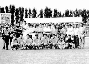 Dacia Unirea Braila 1992 antrenor Titi Dumitriu liga 1 Dragoi , Jica Nicusor , Marian Lazar , Darie , Petrache , Titirisca , Negoita , Bratianu 1 , Bratianu 2 , Sandu Minciu , Baldovin , Ciucasu , Nicoloff