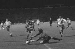 """Faza din meciul Dacia Unirea Braila vs """"U"""" Craiova Finala Cupei Romaniei 1993"""