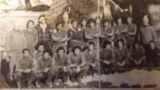 FCM Progresul Braila 1980 divizia B antrenor Robert Cosmoc jucatori :Rosioru Ologu Burlacu Petrache Cataros Darie Ungureanu Oprea